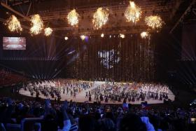 The SEA Games opening ceremony at the Philippine Arena was a dazzling spectacle of colour and choreography.
