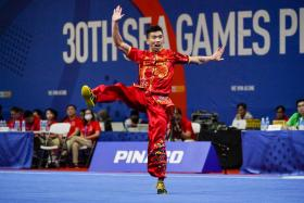 Yong Yi Xiang has won Singapore's first gold at the 30th SEA Games.