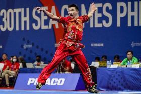 Wushu exponent Yong Yi Xiang gets an early birthday present