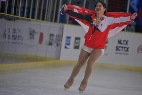 Figure-skater Chloe Ing rallies to clinch gold