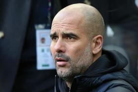 Manchester City are not low on confidence, says Pep Guardiola