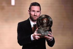 Lionel Messi wins sixth Ballon d'Or as Rapinoe takes women's prize