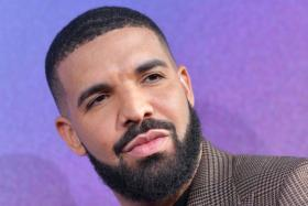 In this file photo taken on June 04, 2019, Canadian rapper Drake attends the Los Angeles premiere of the new HBO series Euphoria at the Cinerama Dome Theatre in Hollywood.