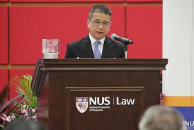 New NUS think-tank to examine legal issues in tech