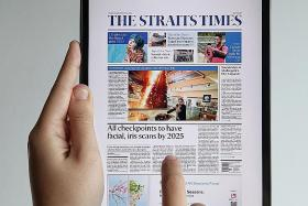 Get your Straits Times on a brand new tablet
