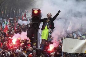 France paralysed as unions start strike