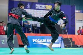 Hazim Yusli wins silat's second gold at 30th SEA Games