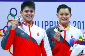 Singapore swimmers bag four golds, as Teong Tzen Wei stuns Schooling