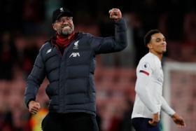 Juergen Klopp's Liverpool also celebrated a first clean sheet since September.