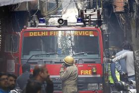 At least 43 killed in New Delhi market fire