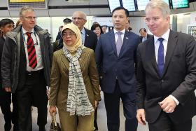 'Future-ready' partnership with Germany is vital: President Halimah