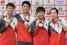 Koen Pang is first local-born paddler to win SEA Games men singles