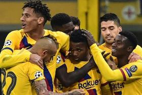 Ansu Fati sets record as Barcelona seal Inter Milan's exit