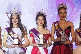 Grandma of five, 44, bags Mrs Global Tourism title