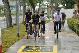 Expansion of cycling network could move ahead by 2 years: Lam Pin Min