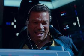 Billy Dee Williams in Star Wars: The Rise Of Skywalker