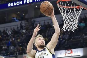 Indiana Pacers snap LA Lakers' road winning streak