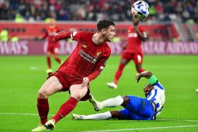 Andy Robertson: We did not miss van Dijk as much as people expected