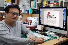 More than 600 entries for new Total Defence logo