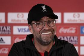 Juergen Klopp says he has become a lot calmer as a manager.