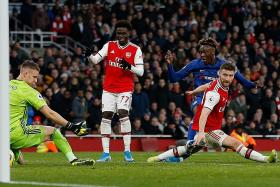 Neil Humphreys: Arsenal done in by Bernd Leno's double punch