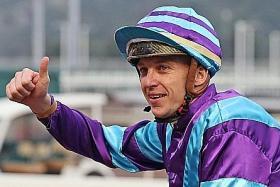 French jockey Tony Piccone.