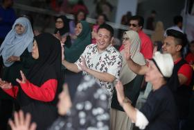 Admiralty residents get free health check, movie screening