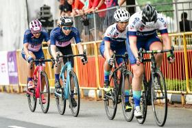 OCBC Cycle has a new all-women's category