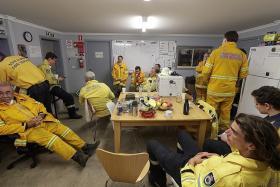 Aussie firefighters finally gain upper hand over 'megablaze'