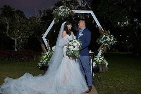 Wedding goes on despite Taal volcano eruption