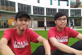 Lack of physics background didn't deter this TP engineering scholar
