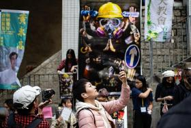 Protest-themed CNY fairs spring up across HK to raise money