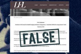 MHA invokes fake news law against Malaysian group