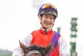 hampion apprentice jockey Simon Kok has good rides in the first four races on Sunday, including the best bet Mr Rockwell in Race 3.