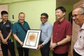 Ex-convicts spruce up home of needy man for Chinese New Year