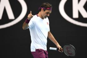 Roger Federer admitted that he did not deserve to win his match against Tennys Sandgren.