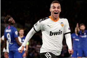 Valencia striker Rodrigo Moreno has two goals in 18 league appearances this season.
