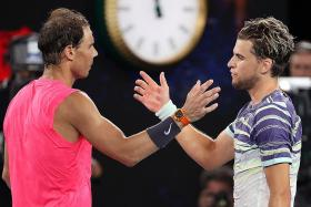 Dominic Thiem: I was lucky to have defeated Rafael Nadal