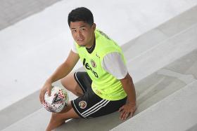 2018 Golden Boot winner Shuhei Hoshino hopes to shine with Balestier