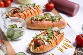 Beyond Sausage Hot Dog from Oasis, Grand Hyatt Singapore