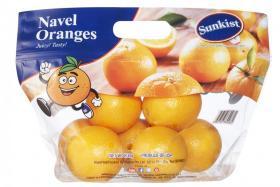 Sunkist Navel Oranges Bag 800g