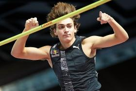 Rivals praise pole vaulter Armand Duplantis for breaking world record