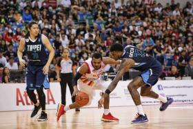 Xavier Alexander racking up a tripledouble of 24 points, 12 rebounds and 10 assists against Taipei Fubon Braves.
