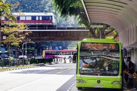 Public transport ridership hits new high except taxi trips