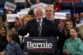 Sanders narrowly beats Buttigieg in New Hampshire Democratic primary