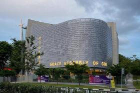 Grace Assembly of God church in Tanglin road.