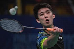 Loh Kean Yew defeats second top-10 shuttler in as many months
