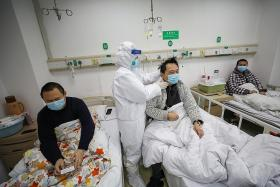 China records largest number of infections; Japan reports first death