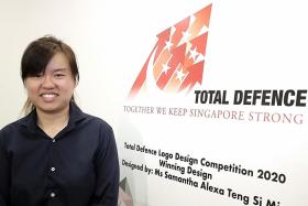 Arrowing a winner: Total Defence gets new logo