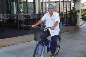 Mr Peh Seng Yap, 80